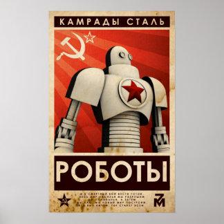 Camaradas do aço poster