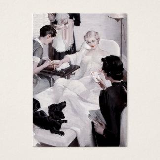 Câmaras de Charles Edward: Manicure Cartão De Visita Grande