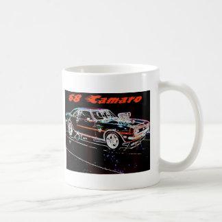 camaro 68 caneca de café