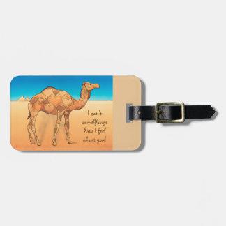 Camelflouge Tags De Mala