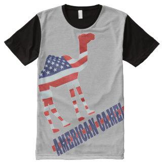 CAMELO AMERICANO v2 - DUTCH Camisetas Com Impressão Frontal Completa