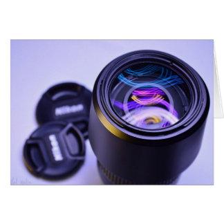 Câmera da fotografia de Nikon Cartão Comemorativo