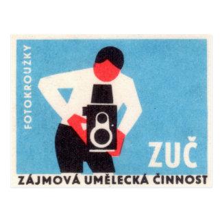 Câmera de Zuc Cartão Postal
