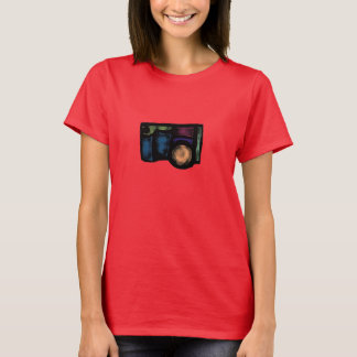 Câmera desvanecida camiseta