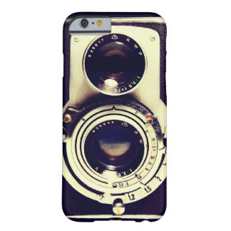 Câmera do vintage capa barely there para iPhone 6