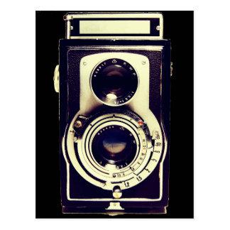Câmera do vintage cartão postal