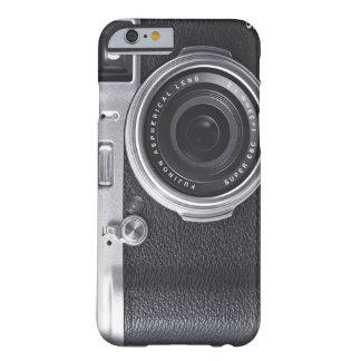 Câmera retro capa barely there para iPhone 6
