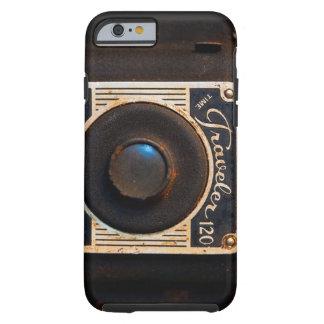Câmera retro do vintage capa tough para iPhone 6