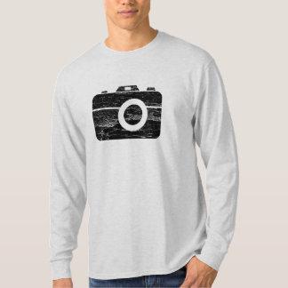 Câmera retro do vintage t-shirt