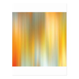 Caminhada abstrata das cores cartão postal
