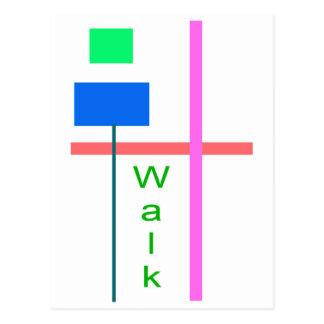 Caminhada Cartoes Postais