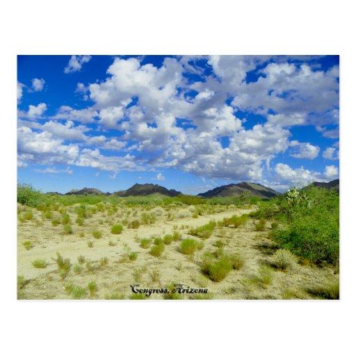 Caminhada da arizona do congresso cartao postal