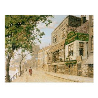 Caminhada de Cheyne, Chelsea, 1857 Cartão Postal