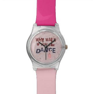 Caminhada de Don´t da dança Relógios