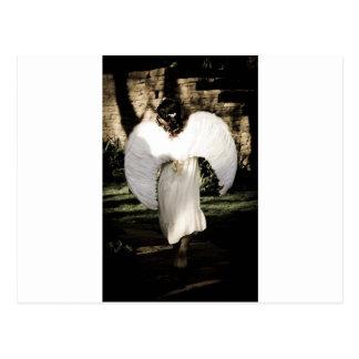 Caminhada do anjo cartão postal