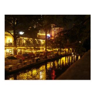 Caminhada do rio de San Antonio Cartão Postal