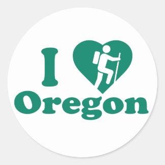 Caminhada Oregon Adesivo