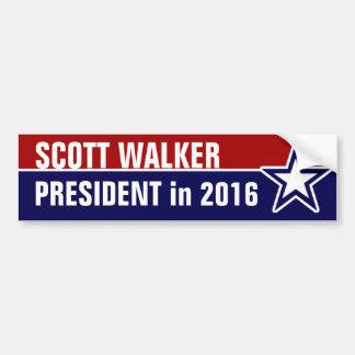 Caminhante de Scott em 2016 Adesivo Para Carro