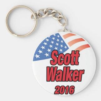Caminhante de Scott para o presidente em 2016 Chaveiro