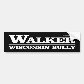 Caminhante, intimidação de Wisconsin Adesivo Para Carro