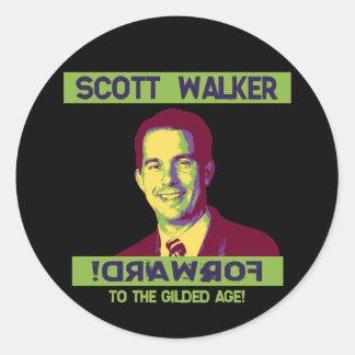 Caminhante Scott - DRAWROF Adesivo