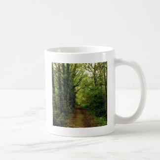 Caminho das naturezas da árvore canecas