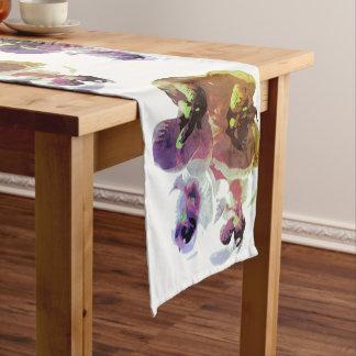 Caminho De Mesa Pequeno Chemin de mesa de 35,5 cm x 183 cm Orquídea