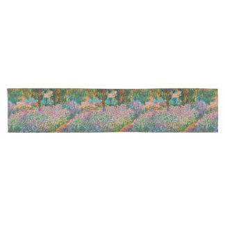 Caminho De Mesa Pequeno Íris no jardim de Monets