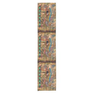 Caminho De Mesa Pequeno Olho egípcio antigo do Mesa-corredor de Horus