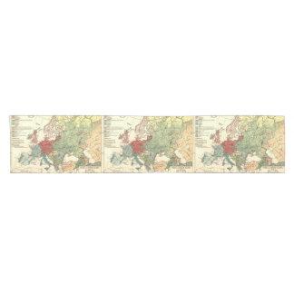Caminho De Mesa Pequeno Viagens vintage européias do mapa