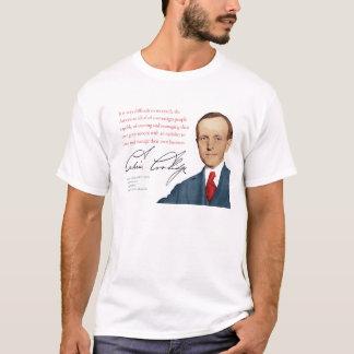 """Camisa #11 o """"Auto-governo """" de Calvin Coolidge"""