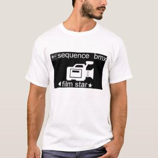 camisa 2 da estrela de cinema