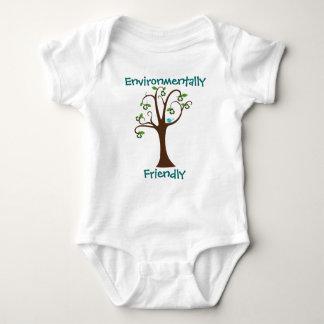 Camisa a favor do meio ambiente da árvore