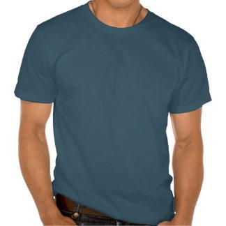 Camisa americana da bandeira do coração t-shirts