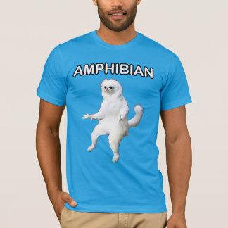 Camisa anfíbia de Meme do guardião da sala do gato