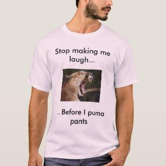 Camisa animal engraçada da chalaça