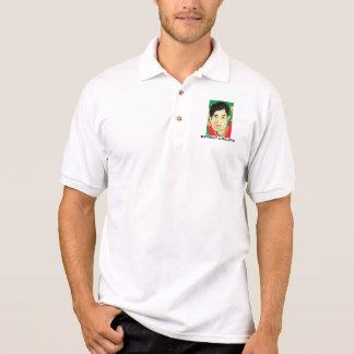 Camisa aposentada do bolso do polo do esboço do