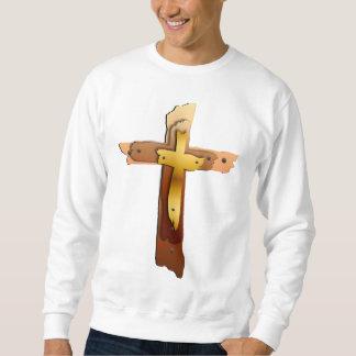 Camisa áspera de três cruzes