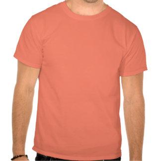 Camisa assustador da abóbora camisetas