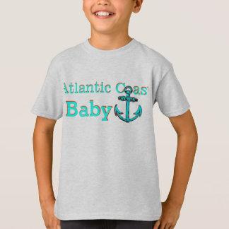 Camisa atlântica do bebê de Nova Escócia da costa