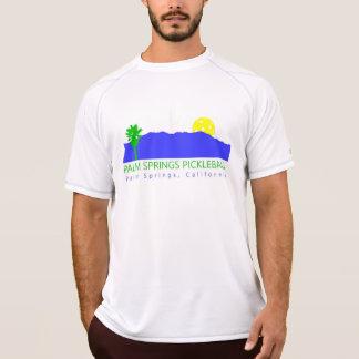 Camisa atlética de Pickleball do Palm Springs dos