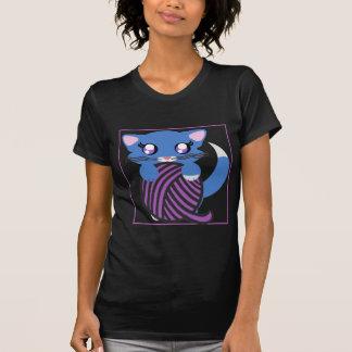 Camisa azul de Skye do gatinho de Toon do bebé