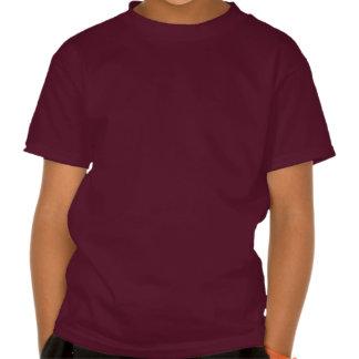 Camisa Bell dourada do Natal T & estrelas Tshirts