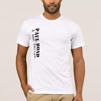 Camisa bond do homem de Paul