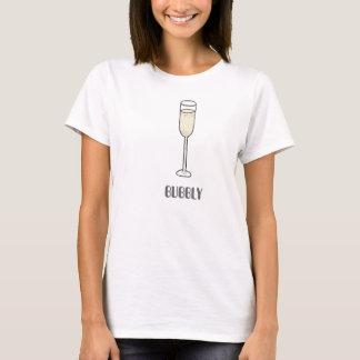 Camisa borbulhante de Champagne