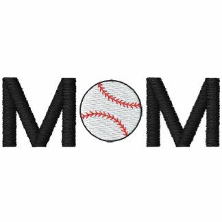 Camisa bordada mamã do basebol