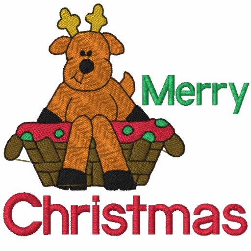 Camisa bordada rena do Natal