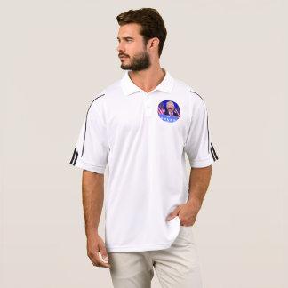 camisa branca do golfe do @TheTrumpPuppet