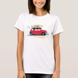 Camisa clássica do T das mulheres mini