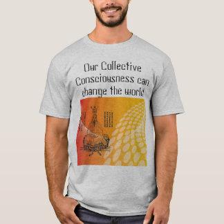 camisa coletiva dos homens da consciência